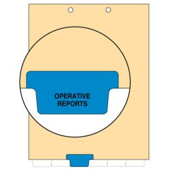 Operative Reports Tab Index Chart Divider