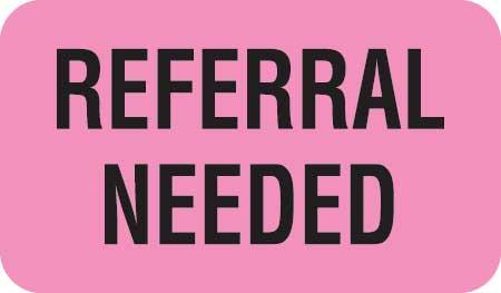 Referral Needed