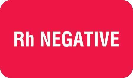 Rh Negative