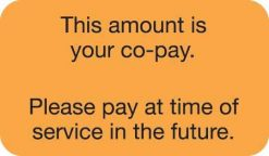 This Amount Is Your Co-pay