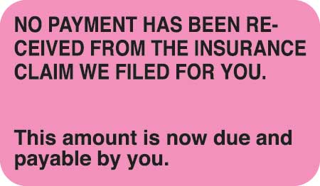 No Payment Has Been