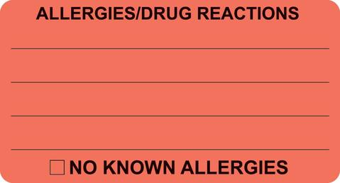 Allergies/Drug Reaction