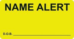 Name Alert - DOB