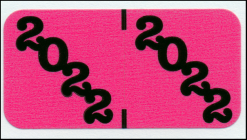 2022 Proprietary Jeter Year code label