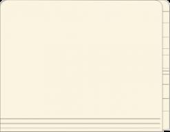 15pt Full End Tab File Folder