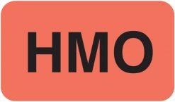 Communication Label Fl Red/Blk HMO