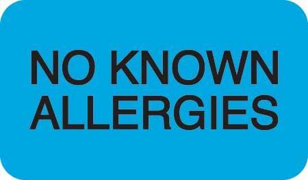 No Known Allergies