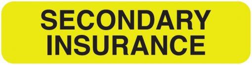 Communication Label Fl Chart Secondary Insurance