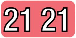 4080-21 Barkley 2021 Year Code label