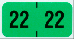 Traco 2022 Year Code Labels