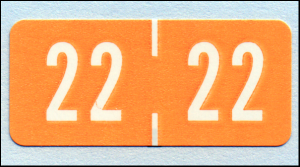 Tab Match small 2022 Year label