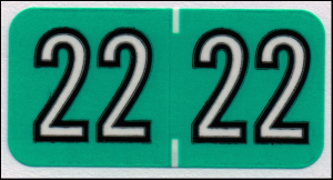 Colwell match 2022 year code label
