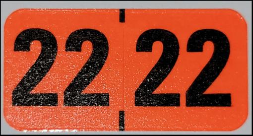 Medical Arts Press 2022 Year label