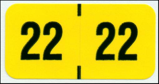 Reynolds & Reynolds 2022 Year Code labels